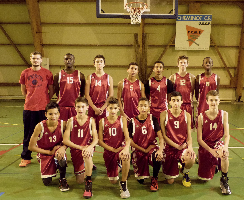Photo Équipe U15M1 / Saison 2014-2015