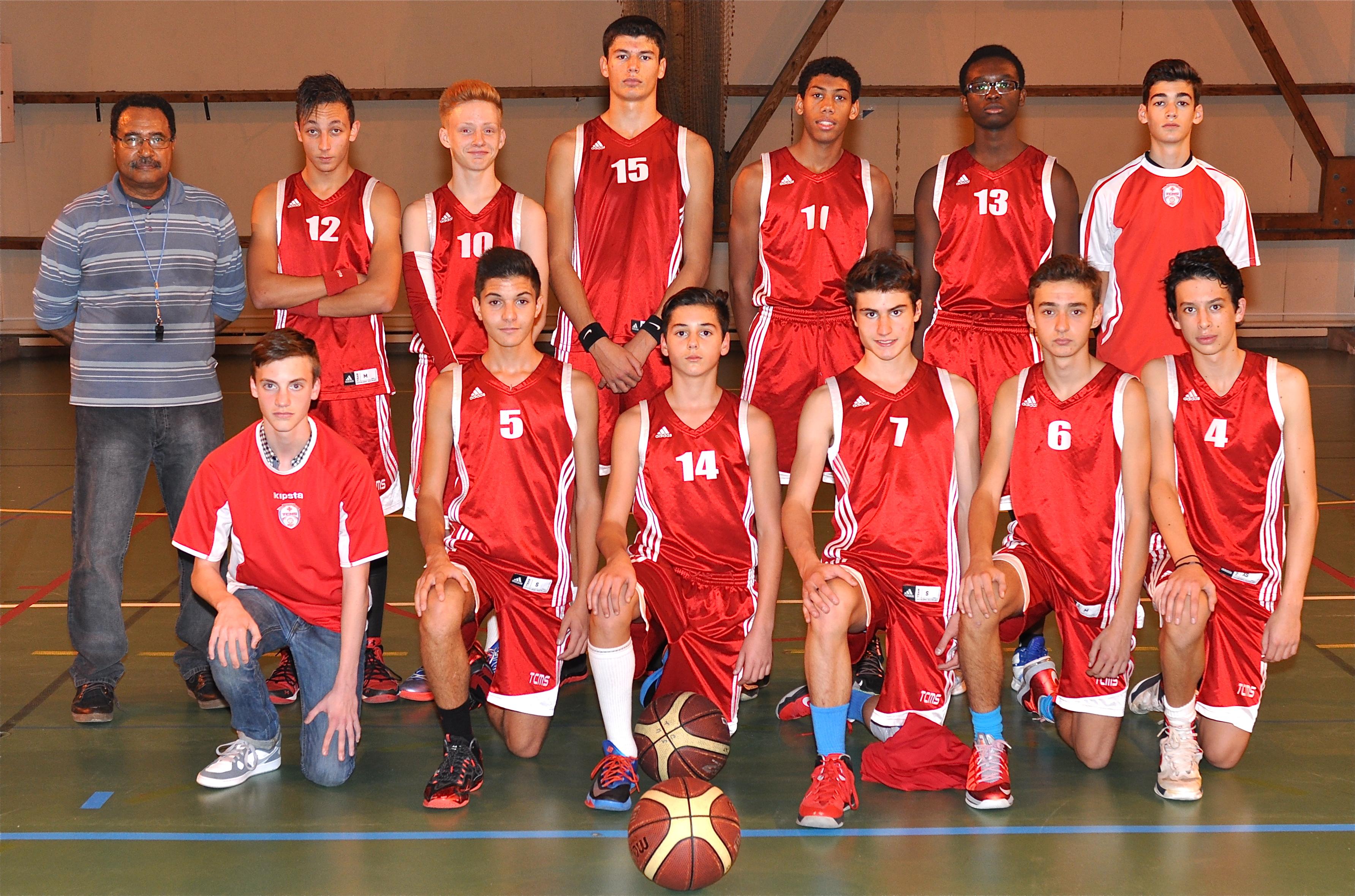 Photo Équipe U17M1 / Saison 2014-2015