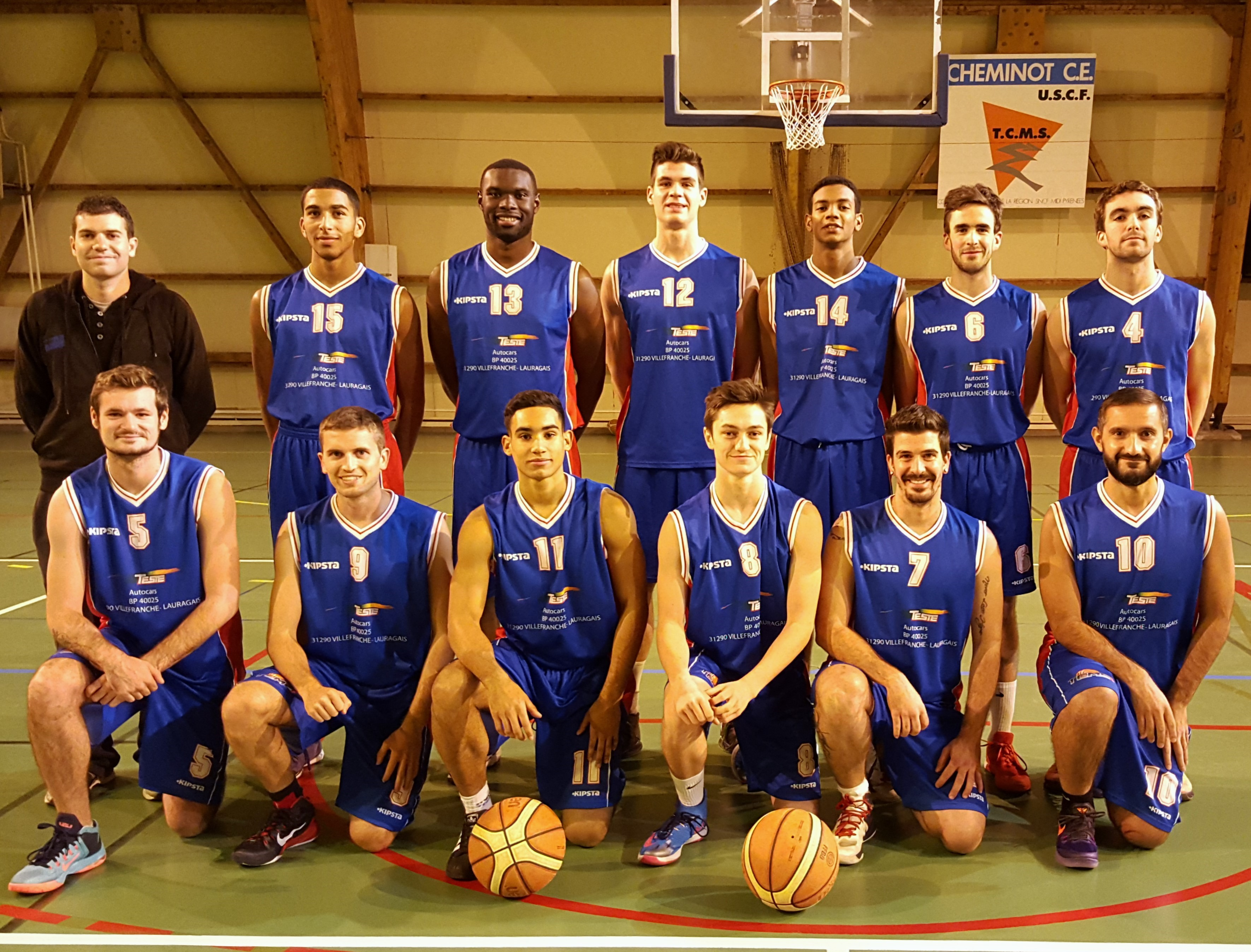 Photo d'équipe SG1 / Saison 2015-16
