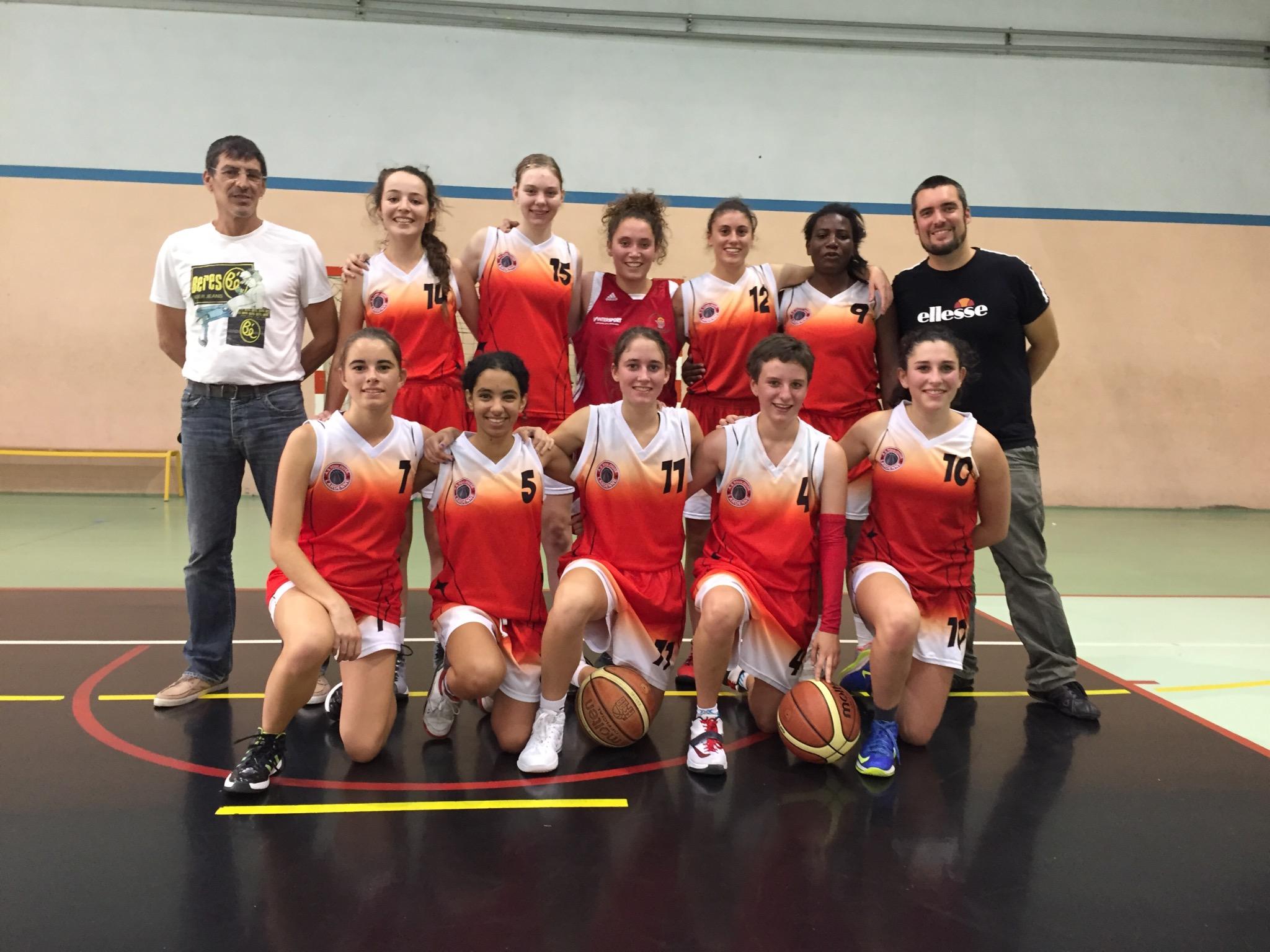 Photo Équipe U20F / Saison 2015-2016
