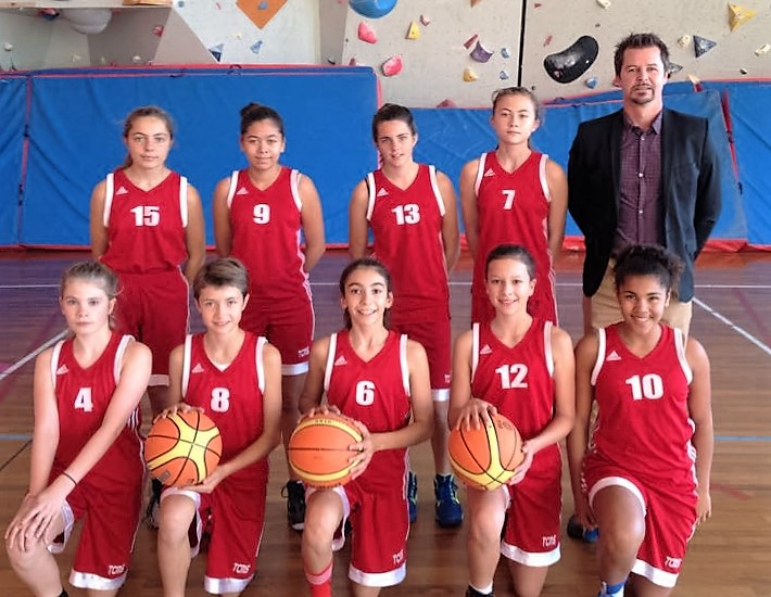 équipe benjamine tcms basket année 2015-2016