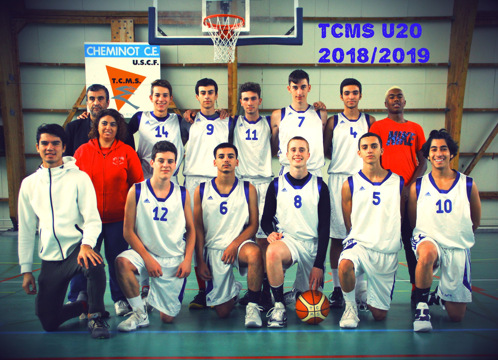 Photo Équipe U20M / Saison 2018-2019