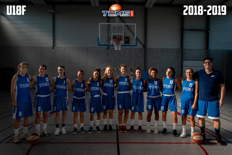 Photo Équipe U18F / Saison 2018-2019