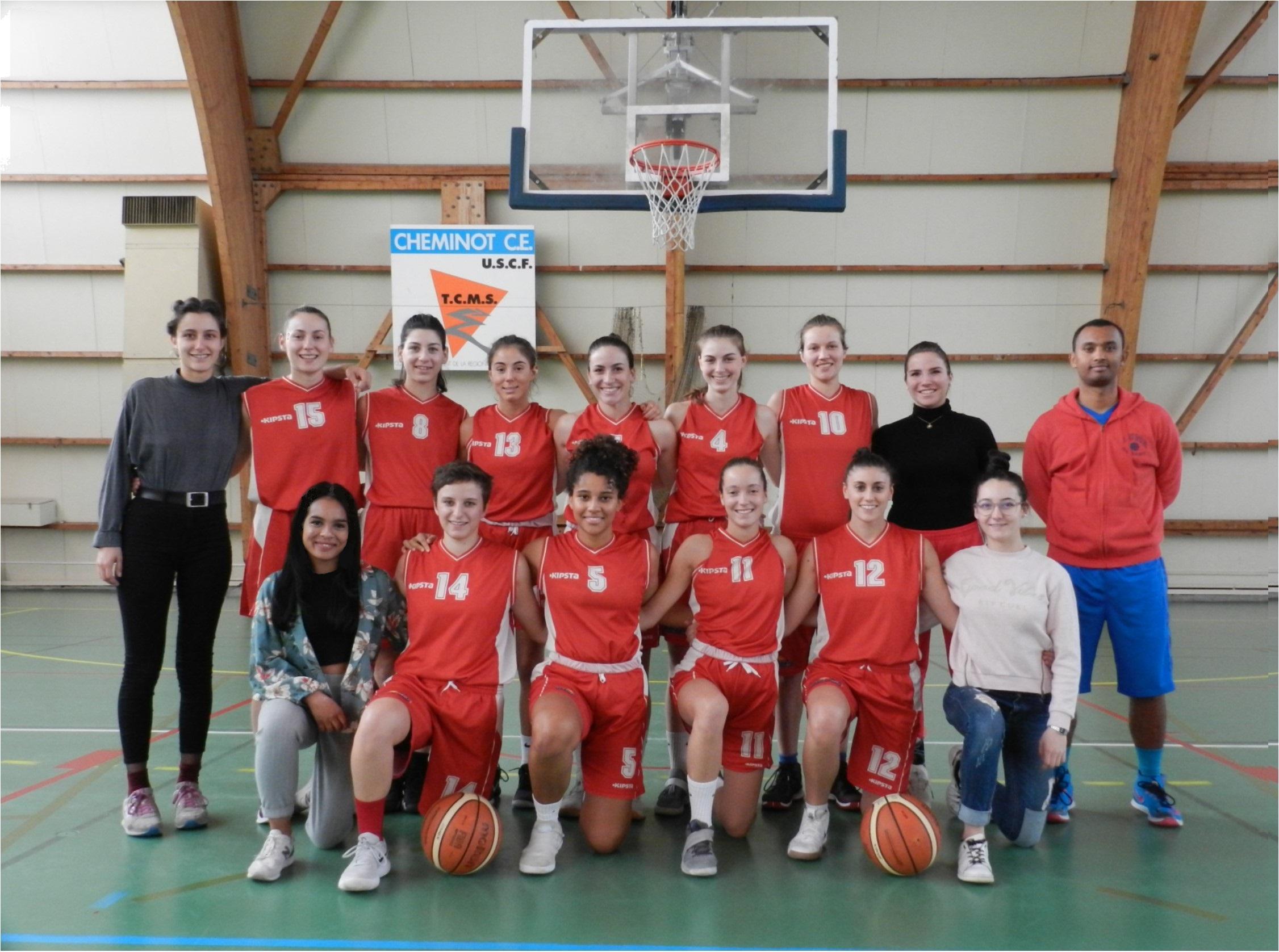 Photo d'équipe SF2 / Saison 2018-2019