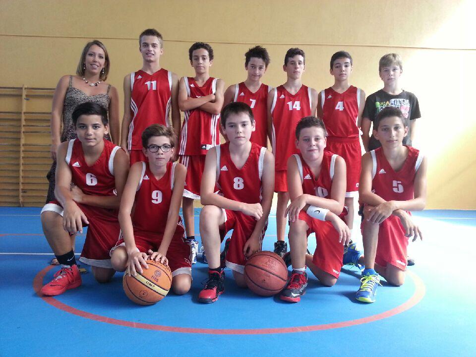 Photo Équipe U15M2 - Saison 2014-2015